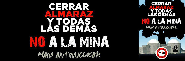 Manifestación antinuclear en Salamanca