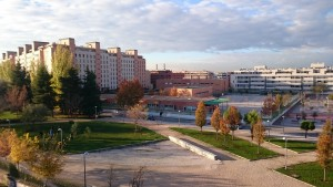 Vista del CEIPSO Tirso de Molina, en el distrito de Arganzuela (Madrid)