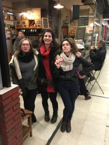 Componentes del colectivo Por los buenos tratos de Acción en Red Madrid
