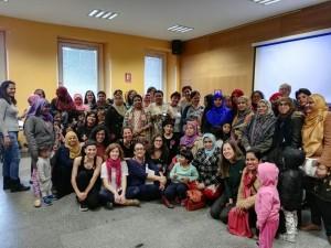 Participantes en la sesión de tarde del Acto de Enredarse.