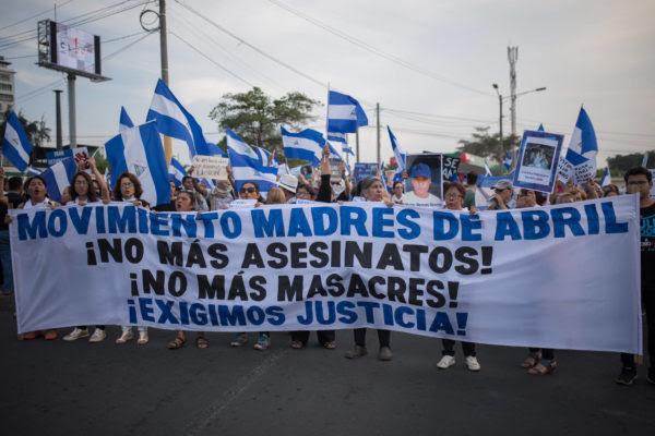La lucha en Nicaragua por la libertad y la democracia